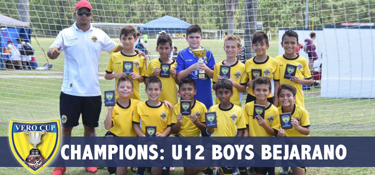U12 Boys Bejarano Champions!