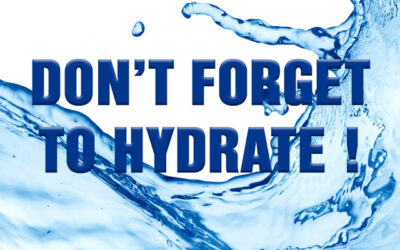 Are You Hydrated ?