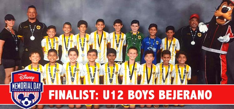Congratulations Bejarano's U12 Boys for taking home Silver!