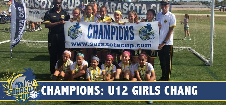 West Pines United F.C. Girls U12 Black wins 2017 Sarasota Cup!