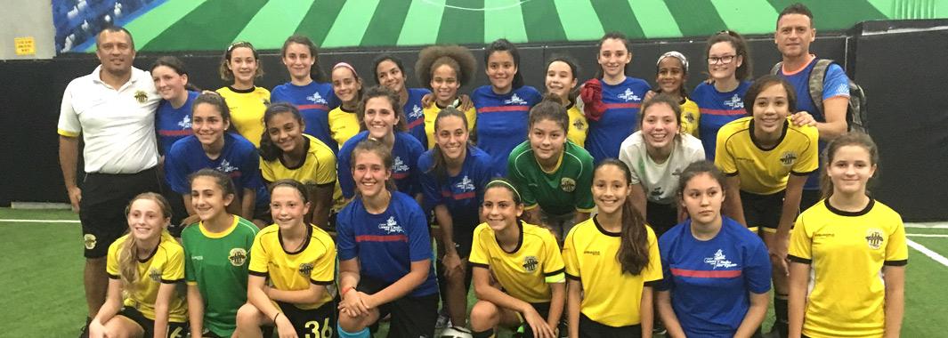 U14 Girls Elite International Friendly with Argentina