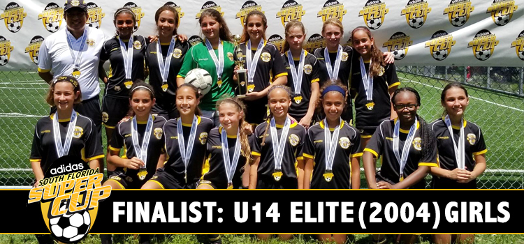 U14 Girls Elite – Runners Up at Adidas Super Cup