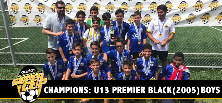 U13 Premier Black Champion!!!!