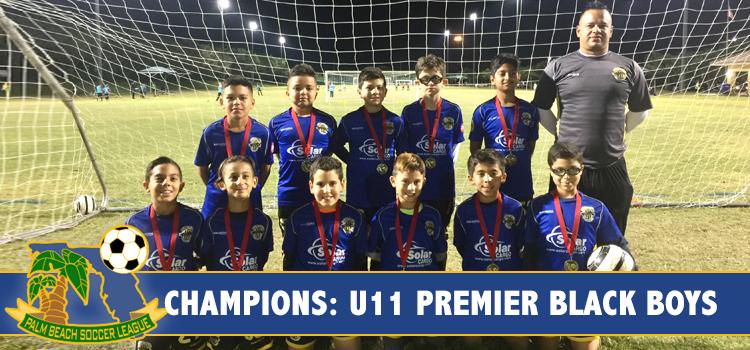 U11 Boys Premier Black