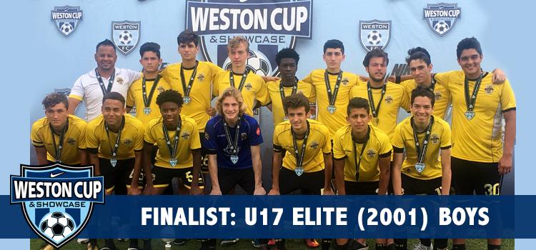 U17 Boys at the Weston Cup Finals