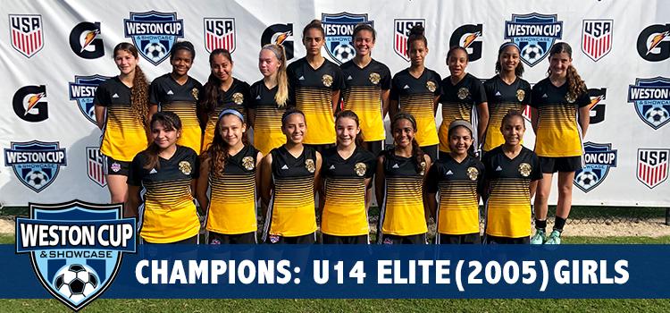 U14 Girls Weston Cup Champs