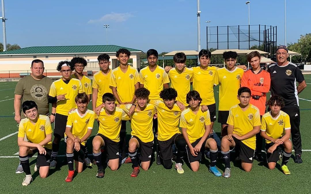 WPU U15 Fernandez for advancing to the semifinals in the SYFUSA spring league