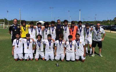 WPU U14 Rico finishing as CHAMPIONS in Palm Beach Cup!