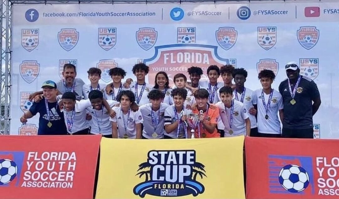 STATE CUP CHAMPIONS in D1 U15 Elite Ezzy