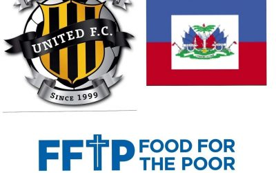 West Pines United FC in conjunction with Food for the Poor raised over $1000…
